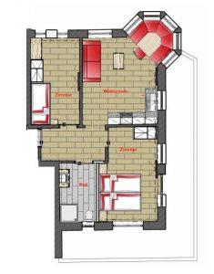 TOP 6 Juwel Apartments Sölden