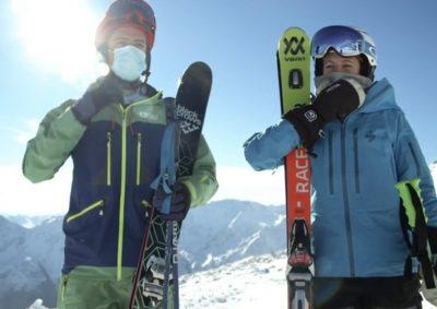 Lockdown Skigebiet Sölden